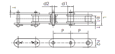 81x roller chain diagram