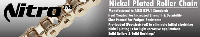 Nickel Roller Chain Benefits