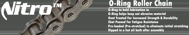O-Ring Roller Chain Benefits