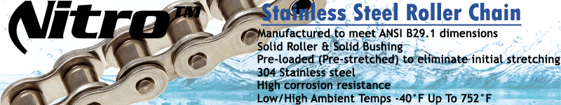 Stainless Roller Chain Benefits