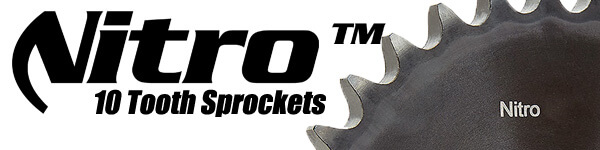10 tooth sprockets