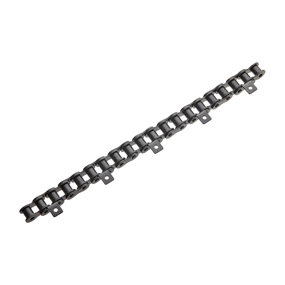 #50 Roller Chain With A1 Attachment Link Every 4th Pitch X 10FT (Outside Links)